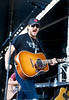 Man did Eric Church get excited while performing on stage at WeFest - Photo by Pat Bonish