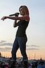 Kellie Pickler on Stage in Cheyenne Wyoming - Photo by Cindy Bonish