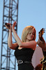 Dancing on Stage with Kellie Pickler in Cheyenne Wyoming - Photo by Cindy Bonish