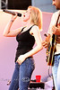 Kellie Pickler Belting out the hits - Cheyenne Wyoming Frontier Days - Photo by Cindy Bonish