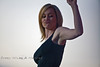 Pumping that Fist - Kellie Pickler in Wyoming - Photo by Pat Bonish