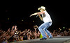 Givin' the Fans What they Came for - Kenny Chesney in Cheyenne Wyoming - Photo by Pat Bonish