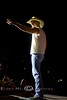 Kenny Chesney Tellin' the Fans He Love's Em' - Cheyenne Wyoming - Photo by Pat Bonish