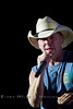 Kenny Chesney on stage in Wyoming - Cheyenne Frontier Days - Photo by Pat Bonish