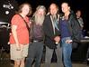 Kym, Rob, Ron Finch & Cindy Bonish, Hanging out at Broken Spoke Saloon, Sturgis - Photo by Pat Bonish