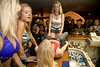 Belly Button Shots on the Bar in Sturgis South Dakota - Photo by Pat Bonish