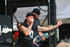 BMX Legend Rick Thorne on Stage and Singing with Pennywise - Vans Warped Tour 2008