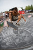 Big AIr off the Lost Energy Half Pipe at the Van Warped Tour in Detroit 2008