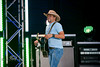 Jason Aldean is all Smiles on Stage @ WeFEst 2010 - Photo by Pat Bonish