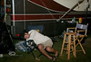 I'll Just Sleep Right Here - WeFest Campground - Photo by Pat Bonish