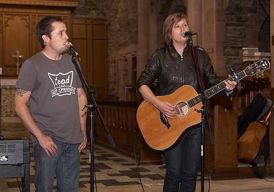 Matt and Garrison
