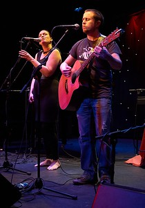 Katherine Crowe and Matt Creer