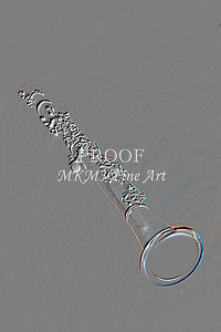 Clarinet Embossed Music Art 9001.401