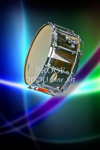 Metal Wall Art Snare Drum In Space 3238.02