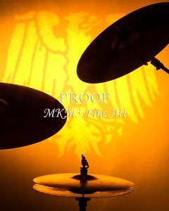 A set of drum cymbals in silhouette against a yellow gold background in the vertical format.  Keywords associated with these photographs are: Drum, drums, snare, sticks, drum set, trap drum set, music, jazz, band, orchestra, marching, percussion, cymbal, drummer, drumming, drum art, drum art prints, drum prints, drum pictures, drum photographs, drumset, rock and roll, country music, antique, vintage, trumpet print, trumpet canvas, Wall art, decorative wall art, fine art photography, art photography, photo art, fine arts, art photo, fine art prints, art prints, fine art, fine art canvas, canvas print, photography, photographic, photo, picture, Mac K Miller III, Mac Miller, M K Miller III, art, modern wall art, wall art ideas, wall art décor, abstract wall art, bathroom wall art, wall art décor, decorative wall art, contemporary wall art, collectable art, cheap art, kitchen wall art, wall art for kitchen,