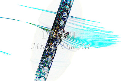 Flute in the Wind Drawing 8001.612
