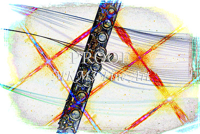 Flute on grid Drawing 8001.606