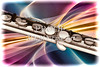 Flute Painting Abstract 8001.313