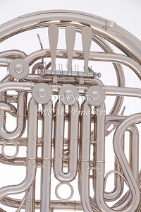 French Horn Rotors Close Up 2079. 10
