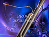 PIcture Bassoon Music Instrument in Color Blue 3409.02
