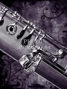 Bassoon Music Instrument Body Picture in Sepia 3420.01