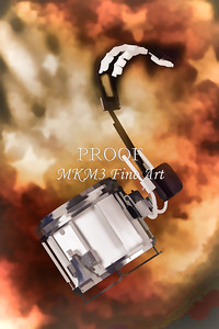 Marching Band Snare drum Painting in Color 3330.02