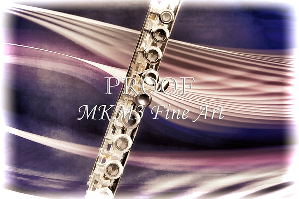 Flute music wind instrument painting photograph 3299.02