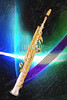 Soprano Saxophone Music Painting in Color 3339.02