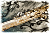 Photograph of Classic Soprano Saxophone painting 3348.02