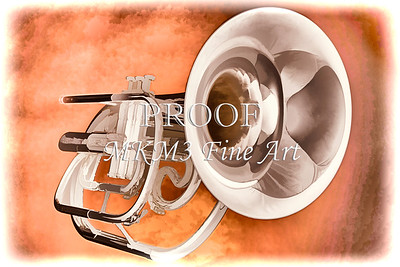Trumpet Painting in Color 3147.02
