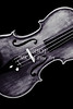 Violin Viola Photograph Strings Bridge in Sepia 3264.01