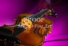 Viola Violin on a Cloth Background in Color Purple 3072.02