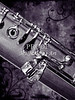 Bassoon Music Instrument Body fine Art Print Photograph in Sepia 3420.01