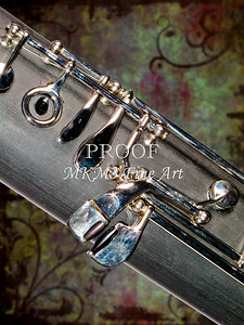 Bassoon Music Instrument Body Fine Art Photograph in Color 3420.02