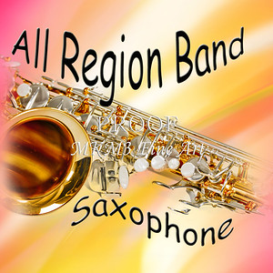All region Band Sax Poster 102
