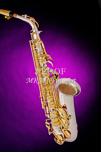 Jazz Saxophone Canvas Print 3271.02