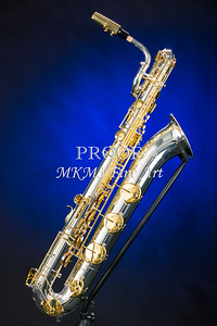Baritone Saxophone Photograph in Color 3463.02