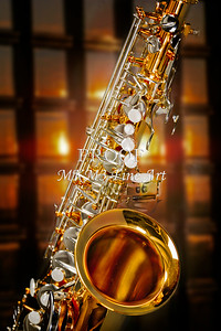 Jazz Tenor Saxophone In the Club 3252.02