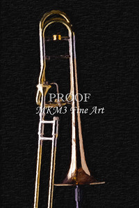 Trombone Rotor an Bell Painting 2603.07