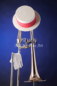 Dixieland Hat and Trombone 2601.04