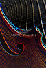 Tile Violin Image Wall Art 4023