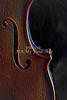 Antifque Violin Sound Hole Art Print 4015