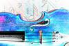 Music Decor Violin Watercolor 6021