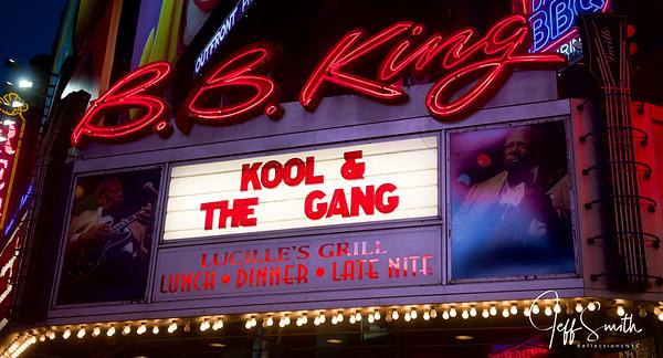 Kool & the Gang March 2nd @ BB King Club