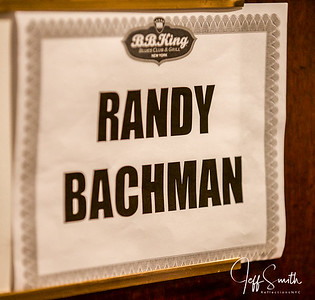 Randy Bachman Feb 24th @ BB King Club