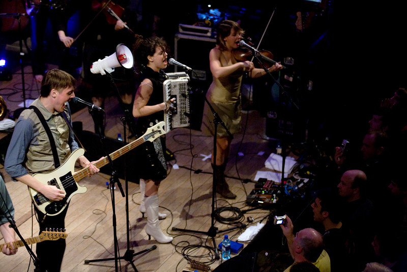 Arcade Fire at St Johns Church, London. 31st January 2007