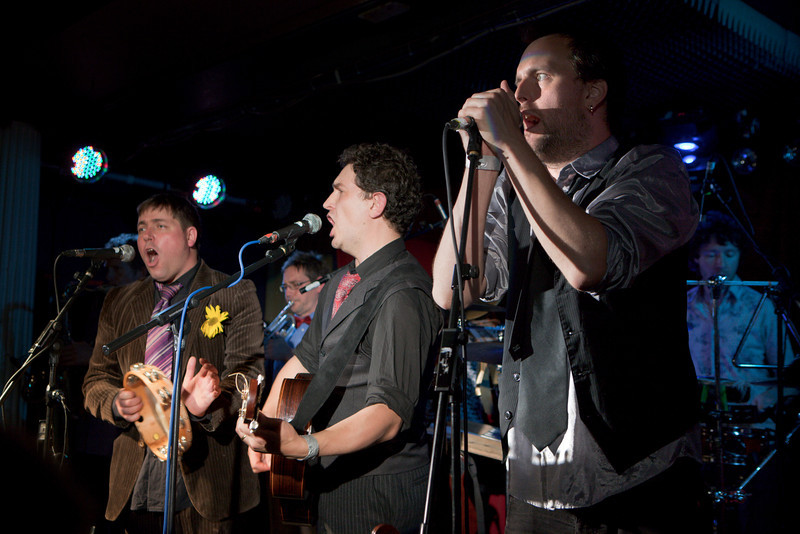 Bellowhead_26_The Water Rats__4th October 2010_Simon Fernandez