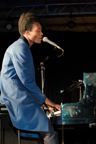 Benjamin Clementine_10_St John at Hackney_7th December 2015