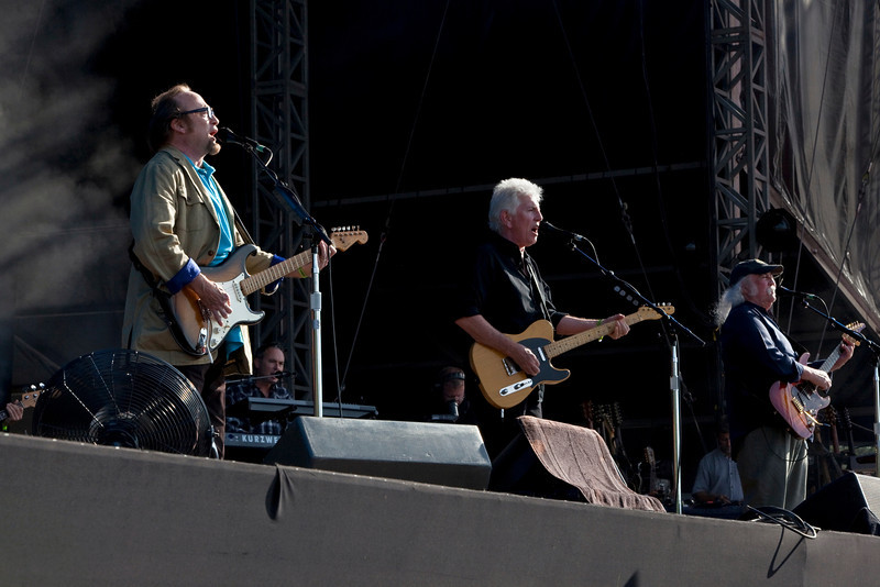 Crosby, Stills and Nash at the Hard Rock Calling Festival, London. 27th June 2010.