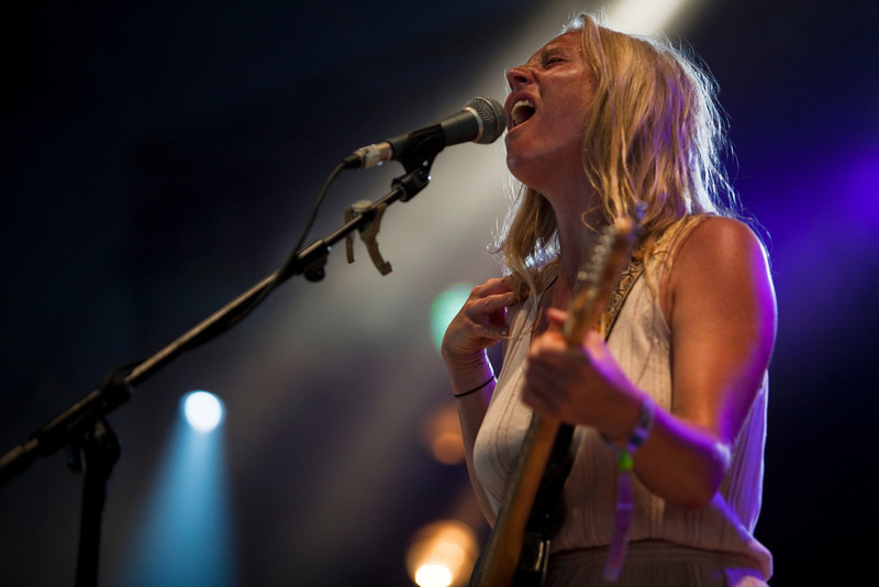 Lissie at the Hard Rock Calling Festival, Hyde Park 2010, London. 27th June 2010.